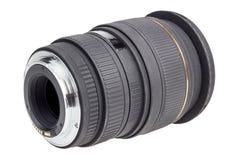Linse der modernen Digitalkamera, hintere Ansicht der Linse Lizenzfreie Stockfotos