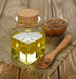 Linseed oil Stock Photo
