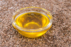 Linseed Oil Stock Image