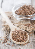 Linseeds Royalty Free Stock Photo
