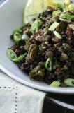 Linsen-und Reis-Salat Lizenzfreies Stockfoto