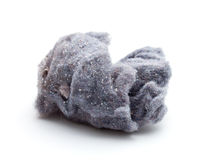 Lint. Or dust bunny from dryer on isolated white background Royalty Free Stock Photography