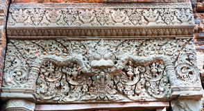 Lintel Decoration Royalty Free Stock Photos