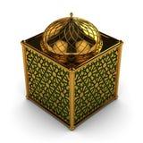 Linterna árabe con adornos florales Fotos de archivo libres de regalías