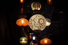 Linterna árabe retra Fotos de archivo