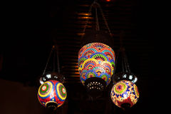 Linterna árabe retra Imagen de archivo