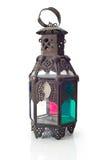 Linterna aislada, Ramadan Lamp Concept Fotos de archivo libres de regalías