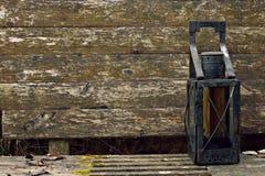 Linterna antigua Foto de archivo libre de regalías