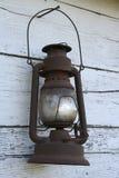 Linterna antigua vieja Fotografía de archivo libre de regalías
