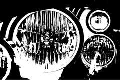 Linterna auto ilustración del vector