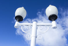 Linterna blanca Imagen de archivo