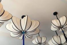 Linterna blanca con el tassle Fotos de archivo libres de regalías