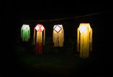 Linterna budista de Vesak Foto de archivo libre de regalías