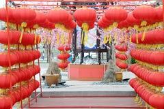 Linterna china del Año Nuevo Fotos de archivo