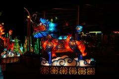 Linterna china del dragón Fotos de archivo libres de regalías