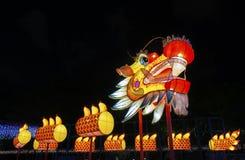 Linterna china del dragón Imagen de archivo libre de regalías