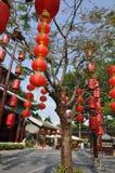 Linterna china roja Fotos de archivo