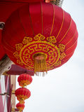 Linterna china roja Fotos de archivo libres de regalías