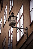 Linterna clásica vieja foto de archivo
