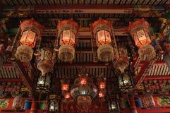 Linterna colgante del templo Imagen de archivo