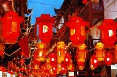 Linterna coloreada Foto de archivo libre de regalías