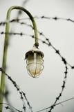 Linterna con alambre de púas Fotografía de archivo