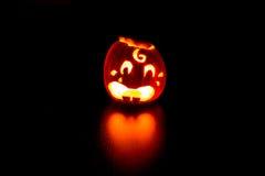Linterna de Halloween Jack o Fotos de archivo libres de regalías