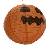 Linterna de Halloween Jack o aislada Imagenes de archivo
