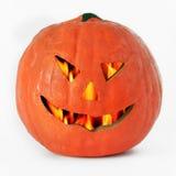 Linterna de la calabaza de Halloween Imagenes de archivo