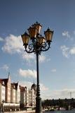 Linterna de la calle del vintage Fotografía de archivo libre de regalías