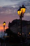 Linterna de la calle, Trieste Fotos de archivo libres de regalías