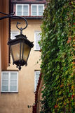 Linterna de la calle - vendimia imagen de archivo libre de regalías