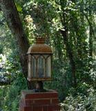 Linterna de la calzada del lado Imagen de archivo