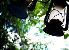 Linterna de la lámpara Foto de archivo libre de regalías