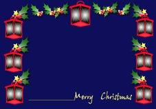 Linterna de la Navidad Imagen de archivo libre de regalías