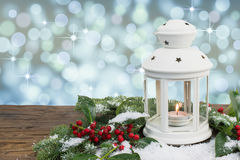 Linterna de la Navidad Fotos de archivo libres de regalías