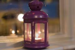 Linterna de la vela Imagen de archivo
