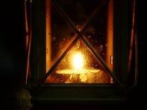Linterna de la vela Fotos de archivo libres de regalías