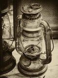 Linterna de la vendimia Fotografía de archivo libre de regalías