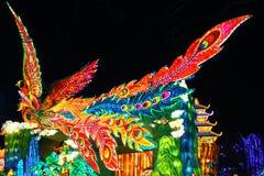 Linterna de Phoenix en el ¼ Œ China de Zigongï Imágenes de archivo libres de regalías