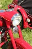 Linterna de una motocicleta vieja Foto de archivo