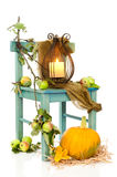 Linterna de Víspera de Todos los Santos Foto de archivo libre de regalías