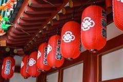 Linterna del Año Nuevo del chino tradicional Foto de archivo libre de regalías