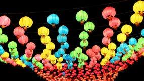 Linterna del Año Nuevo del chino tradicional Imagen de archivo libre de regalías