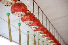 Linterna del Año Nuevo del chino tradicional Imagenes de archivo