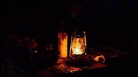 Linterna del aceite del keroseno Imagen de archivo libre de regalías