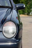 Linterna del automóvil Imágenes de archivo libres de regalías