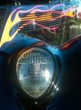 Linterna del automóvil descubierto Fotos de archivo