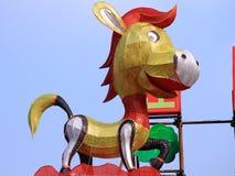 Linterna del caballo Fotografía de archivo libre de regalías