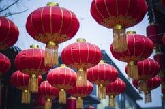 Linterna del chino tradicional Imágenes de archivo libres de regalías